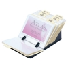 Business Card File 50 Sleeves and A-Z Index Black