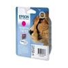 Epson T0713 Inkjet Cartridge DURABrite Cheetah Page Life 250-350pp Magenta Ref C13T07134011