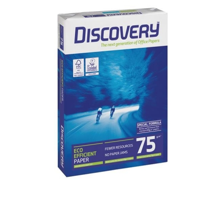 Discovery Everyday Paper A4 75gsm White Ref DIS0750073 [5 x 500 Sheets]