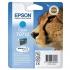 Epson T0712 Inkjet Cartridge DURABrite Cheetah Page Life 345-535pp Cyan Ref C13T07124011
