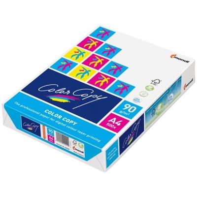 Color Copy Copier Paper Premium Super Smooth Ream-Wrapped 90gsm A4 White Ref CCW0321 [500 Sheets]
