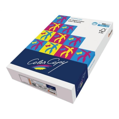 Color Copy Copier Paper Premium Super Smooth Ream-Wrapped 100gsm A3 White Ref CCW1024 [500 Sheets]