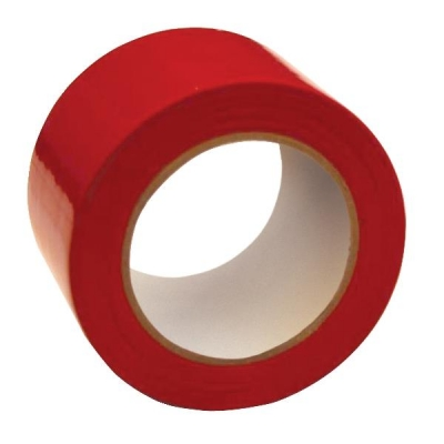 Floor Marking Tape Heavy Duty Red 75mmx33m Red