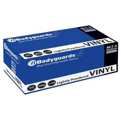 Keepsafe Blue Grip Vinyl Gloves Large Blue Ref 304994905 [50 Pairs]