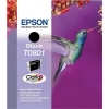 Epson T0801 Inkjet Cartridge Claria Hummingbird Page Life 300-355pp Black Ref C13T08014010