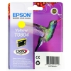 Epson T0804 Inkjet Cartridge Claria Hummingbird Page Life 460-660pp Yellow Ref C13T08044010