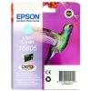 Epson T0805 Inkjet Cartridge Claria Hummingbird Page Life 330-410pp Light Cyan Ref C13T08054010