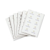 Durable Inserts for Duraprint Badgemaker Card 150gsm 54x90mm Ref 1455 [Pack 200]