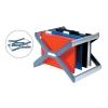 Rexel Crystalfile Extra Desk Organiser Frame for 30 Suspension Files A4 or Foolscap Ref 3000103