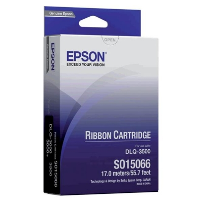 Epson Printer Ribbon Fabric Nylon Black [for Q3000] Ref S015066