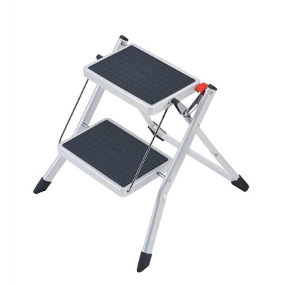 5 Star Mini Stool Two Step Steel Folding Single Sided Load Capacity 150kg
