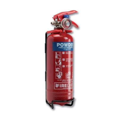 IVG Fire Extinguisher Factory-sealed Dry Powder for Class B and C 600g Ref IVGS800GMBC