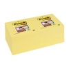 Post-it Super Sticky Removable Notes Pad 90 Sheets 76x76mm Canary Yellow Ref 654-12SSCY [Pack 12]