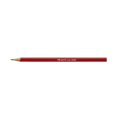 Pencil HB Red Barrel [Pack 12]