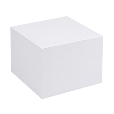 5 Star Refill Block for Noteholder Cube Approx. 750 Sheets of Paper 90x90mm White