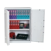 Phoenix Fire Ranger Steel Storage Cupboard Fire and Burglary Resistant W930xD520x1220mm Ref FS1512K