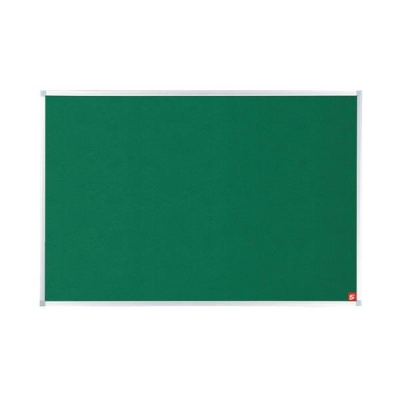 5 Star Noticeboard with Fixings and Aluminium Trim W1200xH900mm Green