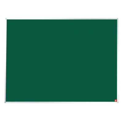 5 Star Noticeboard with Fixings and Aluminium Trim W1800xH1200mm Green