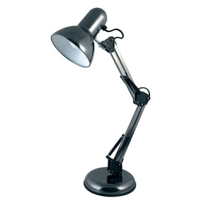 Desk Lamp Hobby Adjustable 35W Reach 350mm H520mm Black