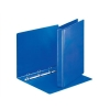 Esselte Presentation Ring Binder Polypropylene 4 D-Ring 25mm A4 Blue Ref 49732 [Pack 10]