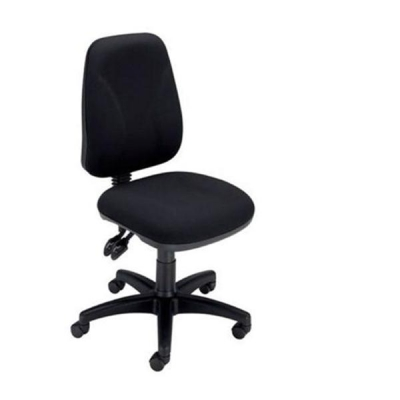 Trexus Intro High Back Permanent Contact Chair Seat W490xD450xH440-560mm Back H490mm Black