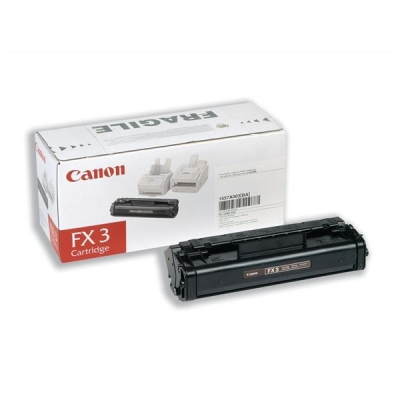 Canon FX3 Fax Laser Toner Cartridge Page Life 2700pp Black Ref 1557A003