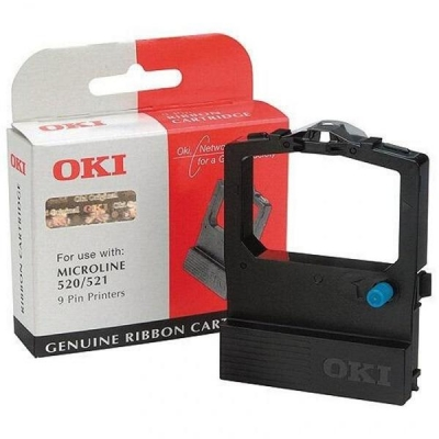 OKI Ribbon Cassette Fabric Nylon Black [for 520] Ref 09002315