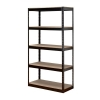 Influx Storage Shelving Unit Heavy-duty Boltless 5 Shelves Capacity 5x 150kg W950xD450xH1880mm Black