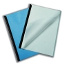 Report Covers PVC Capacity 100 sheets A3 Folds to A4 Clear [Pack 50]