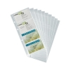 Durable Visifix Refill Set for 145x255mm Business Card Album 8 Cards per Insert Ref 2387 [Pack 10]