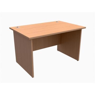 Trexus Classic Desk Panelled Rectangular W1200xD800xH725mm Beech