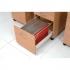 Trexus Mobile Filing Pedestal 2-Drawer W400xD600xH602mm Beech