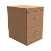 Trexus Filing Cabinet 2-Drawer W480xD600xH720mm Beech
