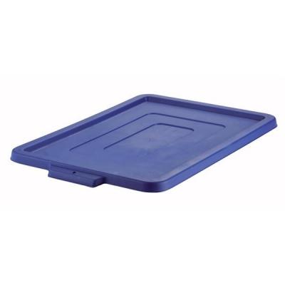 Strata Storemaster Crate Jumbo Lid W405xD560xH25mm Blue Ref HW49 BU