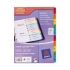 Avery ReadyIndex Dividers Mylar Tabs A4 1-10 Ref 01735501 L7411-5
