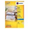 Avery Quick DRY Addressing Labels Inkjet 21 per Sheet 63.5x38.1mm White Ref J8160-100 [2100 Labels]