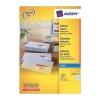 Avery Quick DRY Addressing Labels Inkjet 14 per Sheet 99.1x38.1mm White Ref J8163-100 [1400 Labels]