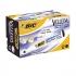 Bic Velleda 1701 Whiteboard Marker Bullet Tip Line Width 1.5mm Black Ref 904937 [Pack 12]