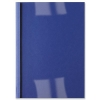 GBC Thermal Binding Covers 6mm Front PVC Clear Back Gloss A4 Royal Blue Ref IB451034 [Pack 100]