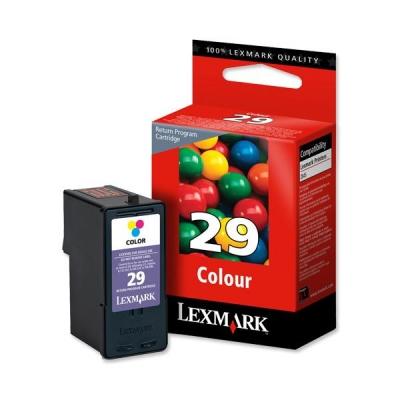 Lexmark No. 29 Inkjet Cartridge Page Life 150pp Colour Ref 18C1429E