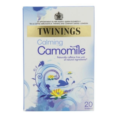 Twinings Infusion Tea Bags Individually-wrapped Camomile Ref A00809 [Pack 20]