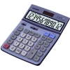 Casio Calculator Tax Euro Desktop Battery/Solar 12 Digit 3 Key Memory 122x169x35mm Ref DF120TER