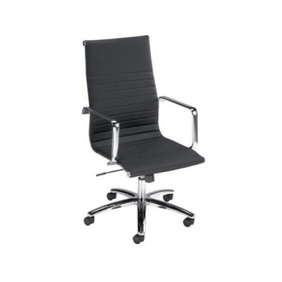Influx Breeze Executive Armchair Back H560mm Seat W490xD430xH480-560mm Black Ref F7A