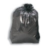 5 Star Facilities Bin Bags Medium Duty Medium Duty 110 Litre Capacity Black [Pack 200]