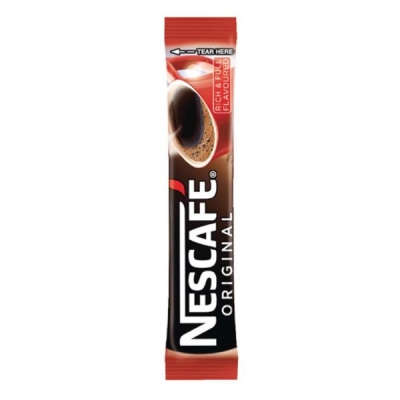 Nescafe Original Instant Coffee Granules Stick Sachets Ref 12165415 [Pack 200]