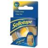 Sellotape Original Golden Tape Roll Non-static Easy-tear Retail Pack 18mmx25m Ref 1443169 [Pack 8]