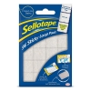 Sellotape Sticky Loop Pads 96 Pads 20x20mm White Ref 1445184