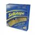 Sellotape Sticky Hook Strip 25mmx12m Yellow Ref 1445179