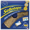 Sellotape Sticky Hook Spots in Handy Dispenser of 125 Spots Diameter 22mm Yellow Ref 1445185