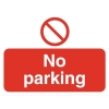 Stewart Superior Outdoor No Parking Sign Polypropylene W600xH450mm Ref KS011